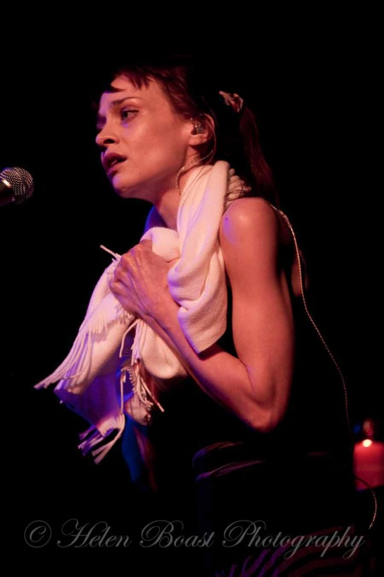 Fiona Apple performs live at The Presbyterian Church in Austin Texas for SXSW Festival
